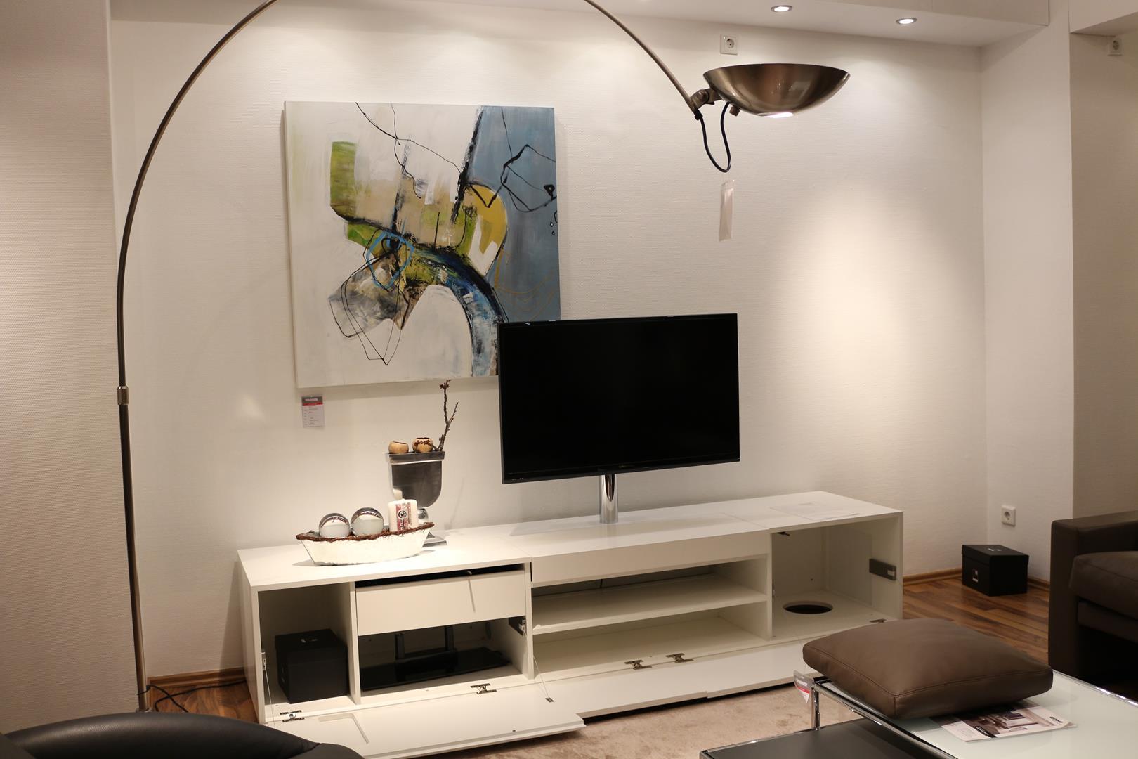 Mediencenter WK 404 corna mit TV-Drehsäule