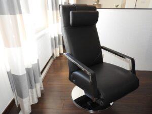 Einrichtungshaus Wagner erpo Relaxsessel RE400 Leder schwarz